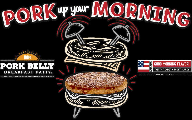 Pork Belly Breakfast Patty D